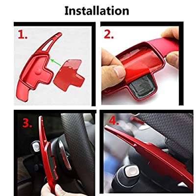 Steering Wheel Paddle Shifter Extension For Mercedes Benz, TTCR-II Alu-Alloy Shift Paddle Blade(Fits: 2020-2020 A/G, 2015-2020 C/CLA/CLS/S/SL, 2020-2020 E/GLS/SLC, 2016-2020 GLA/GLC/GLE/Metris Class): Automotive