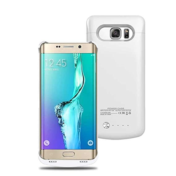 promo code 639ad 590b4 4200mAh Battery Case for Samsung S6 Edge Plus, Portable Slim Extended  Battery Charger Case 120% Extra Battery Backup Case , External Power Case  for ...