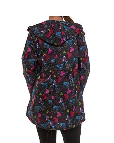 TOP VENDOR - Abrigo impermeable - Manga Larga - para mujer MULTIHEART