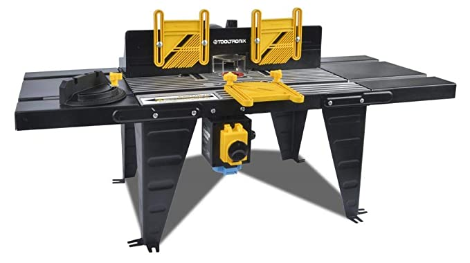 Superb Tootronix 1800W Bench Mounted Electric Router Table Aluminium Surface 460Mm X 335Mm Nvr No Volt Release Switch Three Feather Boards Extension Ocoug Best Dining Table And Chair Ideas Images Ocougorg