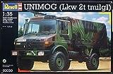 Qiyun Revell 1 35 Unimog LKW 2T Tmilgl Model Kit 03020
