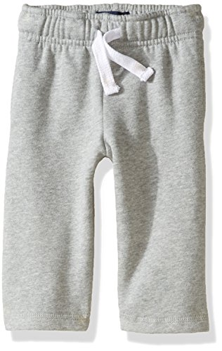 The Children's Place Baby Boys' Gym Uniform Fleece Pant, Smokey, 18-24 (Baby Fleece Pant)