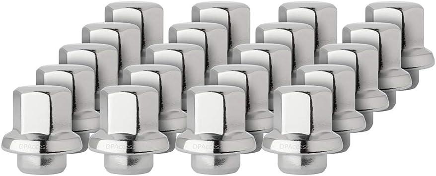 PA 20 OEM Chrome Lug Nuts for Buick Chevy Oldsmobile Pontiac 371674 611-248 Prime Ave 5559173586