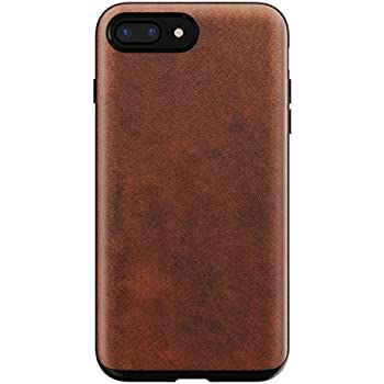 designer fashion e8c67 efa0e Amazon.com: Nomad Rugged Case for iPhone X | Rustic Brown Horween ...