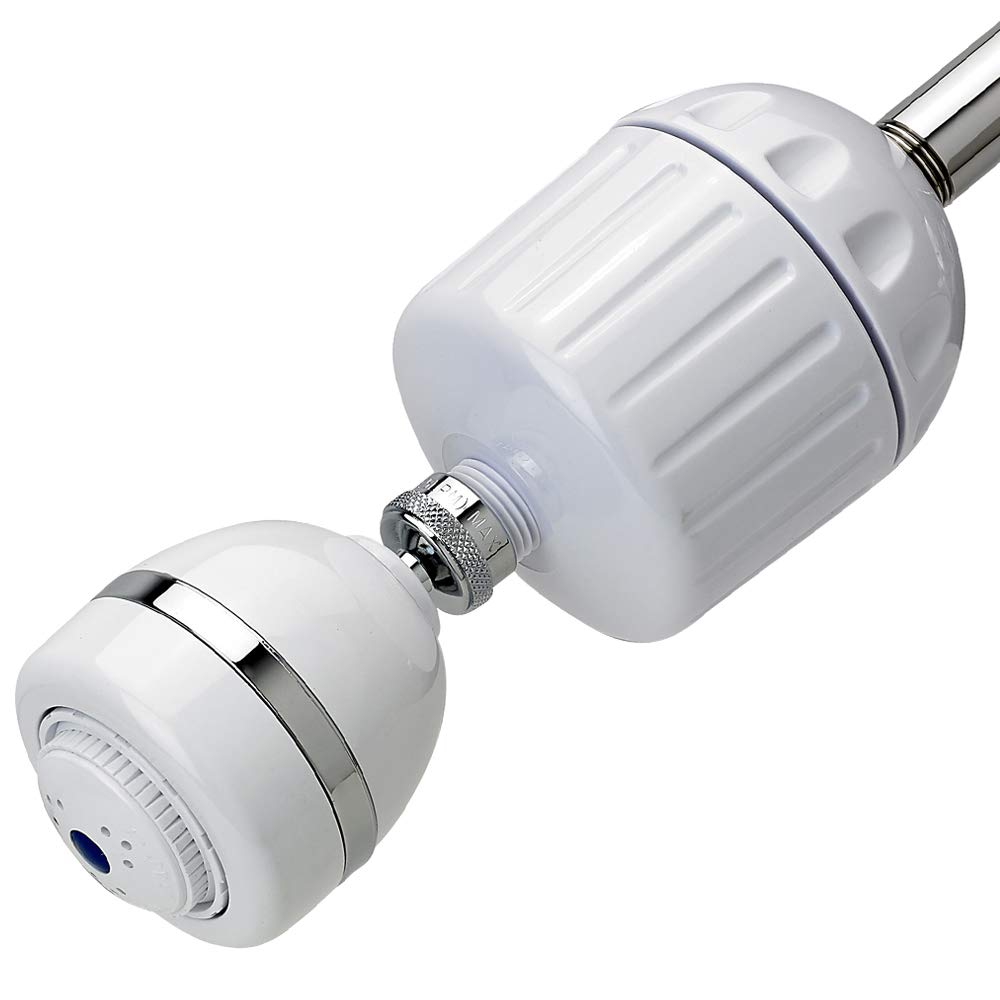 Sprite HO2-WH-M High Output 2 Universal Filter Housing with Additional Shower Head, White by Sprite