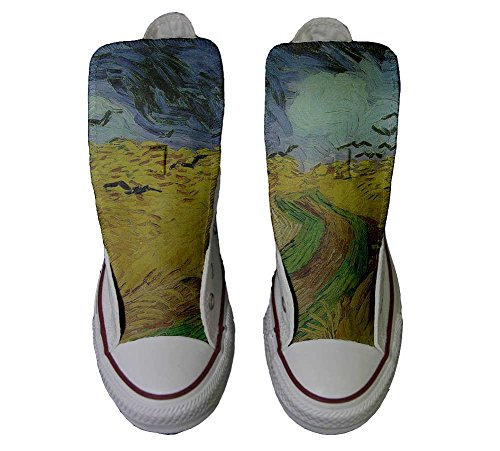 Van Star Schuhe All Hi Schuhe Converse Customized Handwerk Gogh personalisierte SHOw58q