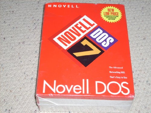 Novell DOS 7 Competitive Upgrade 3.5