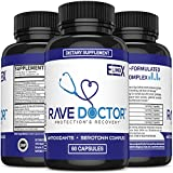 Rave & Festival Hangover Prevention   Rave Supplement   Rave Pills   Antioxidant Supplement   5-HTP   Serotonin Boost   Mood Boost   Hangover Cure   Rave Fans Party Smart with Recovery Supplements