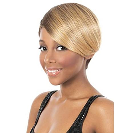 Amazon.com: ANIWIGS Afro Blonde Wigs for
