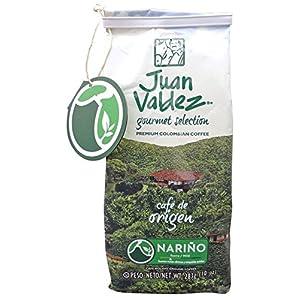 Caffè macinato premium dalla Colombia, mite, confezione da 283g - Café JUAN VALDEZ Gourmet Selection NARIÑO, suave, 283…