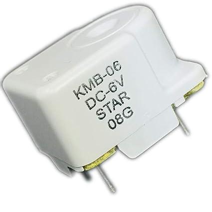 Amazon com: KMB-06 Star Piezo TRANSDUCER, Buzzer, 2 15KHZ