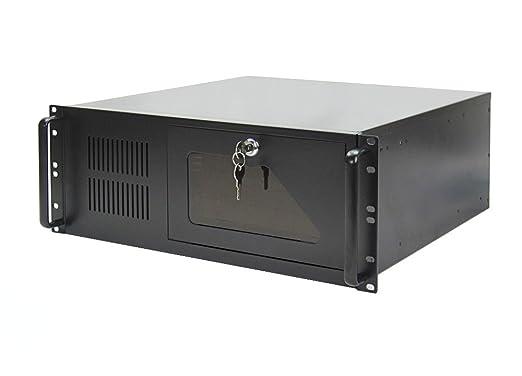 2 opinioni per 19 pollici 4U server case industriale da rack- nero- ATX- 48cm di profondità