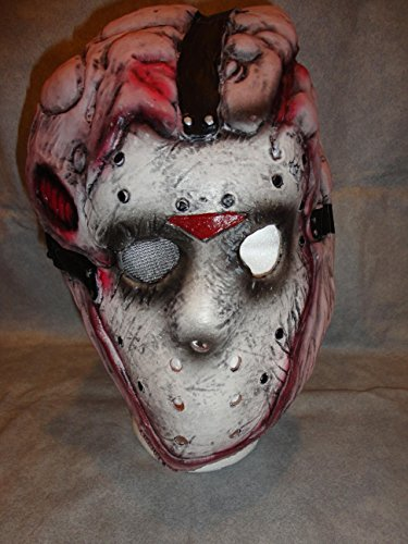 Deluxe Jason Friday the 13th Mask Latex Mask Halloween Mask Child Size