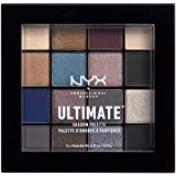 NYX PROFESSIONAL MAKEUP Ultimate Shadow Palette, Ash, 1 Count