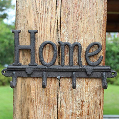 Country 4 Hole Deck Mount - CXQ Retro Country Industrial Wind Cast Iron Hook Crafts Wall Hangings Home Home Decoration