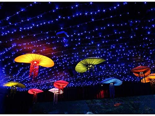 ASKLKD LED-Schnur-Licht Im Freien Wasserdichte Kupferdraht Dekorative Leuchten For Schlafzimmer Terrasse Parties Weihnachtsbaum Flaschen Indoor Firefly Licht (Color : Yellow-100m.1000LEDs)
