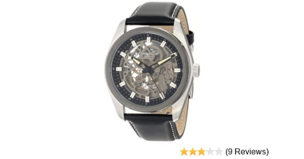 Amazon.com: Kenneth Cole New York Mens KC8040 Automatic Round Grey Dial Ion-Plated Bezel Watch: Kenneth Cole: Watches