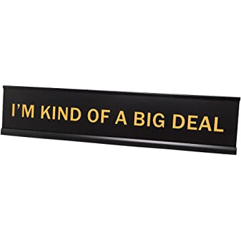 Amazon Com Lotsa Laughs Desk Plate By Griffco Supply I