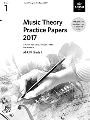 Music Theory Practice Papers 2017, ABRSM Grade 1 (Theory of Music