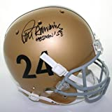 Victory Collectibles VIC-000197-SFR-TB-ARMY Pete Dawkins Autographed Throwback 1957-58 Army Replica Helmet