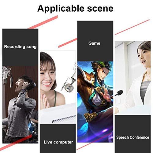 Casinlog V8S Audio USB Microfono Webcast Live Sound Card 112 tipi di trasmissione audio elettrica per telefono computer PC