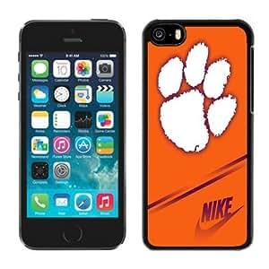 LJF phone case Iphone 5c Case Ncaa ACC Atlantic Coast Conference Clemson Tigers 8