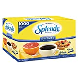 Splenda No Calorie Sweetener Value Pack, 1000 Count