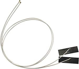 A Pair of 53cm/20.86in Mhf4 IPEX4 2.4/5g WiFi NGFF M.2 Antennas use for AC 7260 7265 8260 Ngff Card