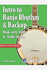 Intro to Banjo Rhythm & Backup Book with Video & Audio Access Paperback