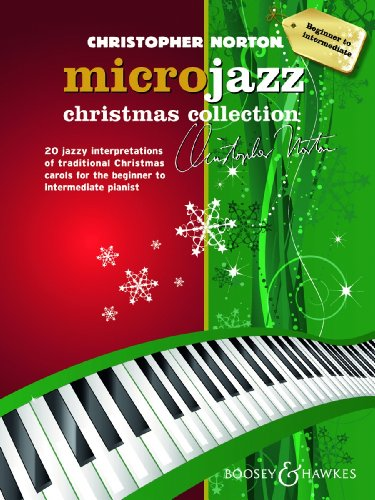Microjazz Christmas Collection - 20 jazzy interpretations of traditional Christmas carols for the beginner to intermediate pianist - piano - ( BH 12384 )