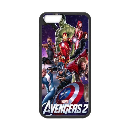 """Fayruz - iPhone 6 Rubber Cases, The Avengers Hard Phone Cover for iPhone 6 4.7"""" F-i5G267"""