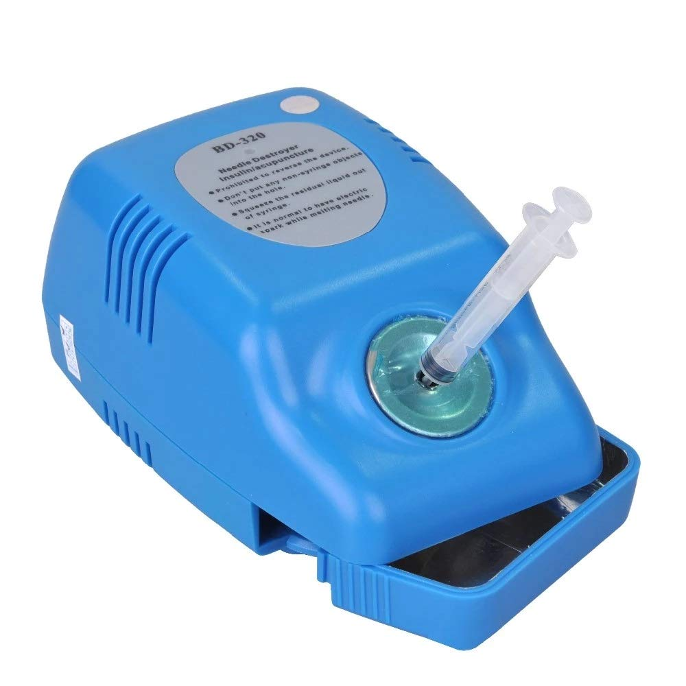 Disposable Insulin/acupuncture/Dental needle Destroyer Double overheating protection CE&ISO BD-320 30G-34G For home use only   B01EA96244