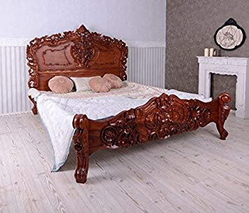 Fine French Double Bed Antique Rococo Baroque Bedroom Furniture Best Image Libraries Sapebelowcountryjoecom