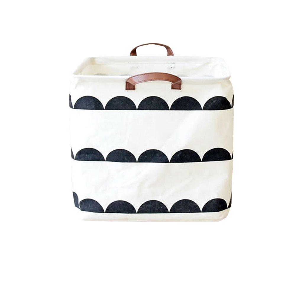 Etbotu Foldable Storage Basket,Toy Box Laundry Bag Container Household Organizer
