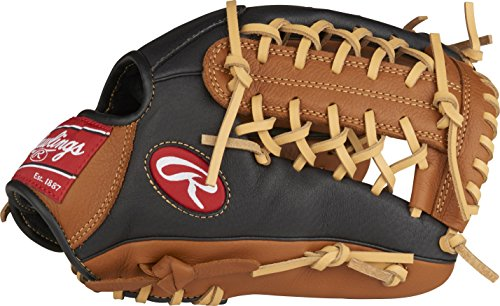 Rawlings P115GBMT-6/0 Prodigy Youth Baseball Glove, Regular, Modified Trap-Eze Web, 11-1/2 Inch ()
