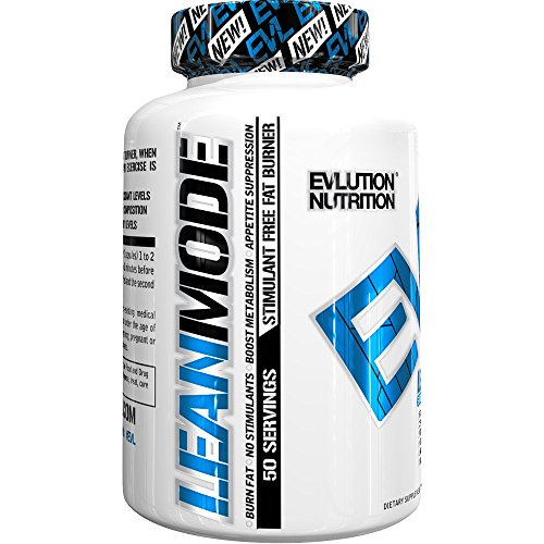 Evlution Nutrition Lean Mode Stimulant Free Weight Loss Supplement With Garcinia Cambogia  Cla And Green Tea Leaf Extract   50 Servings