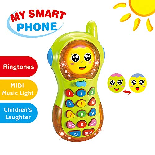 Baby Phone Toy 3-12 Months Baby Phone Toy 6-9 Month Old Toys Gift for Baby G...