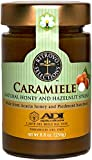 ADI Apicoltura Caramiele Natural Honey and Hazelnut Spread, 8.8oz