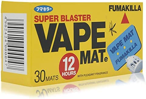 Fumakilla Super Blaster Vape Mat - 30 Pieces: Amazon com