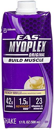 Eas Myoplex Original Protein - EAS Myoplex Original Ready-to-Drink Protein Shake - Vanilla - 17 oz - 4 ct