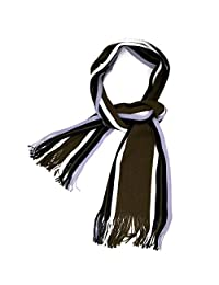 Tapp CollectionsTM Premium Stripes Tassel Ends Knitted Scarf