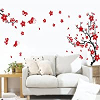 1PCS New Design Wall Stickers Flower Removable Decal Home Decor Wallpaper Unique