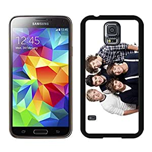 Samsung Galaxy S5 One Direction 2 Black Screen Cover Case Charming and Newest Look