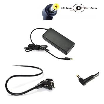 Cargador para Packard Bell EasyNote el LV TS TJ TR 90 W la ...