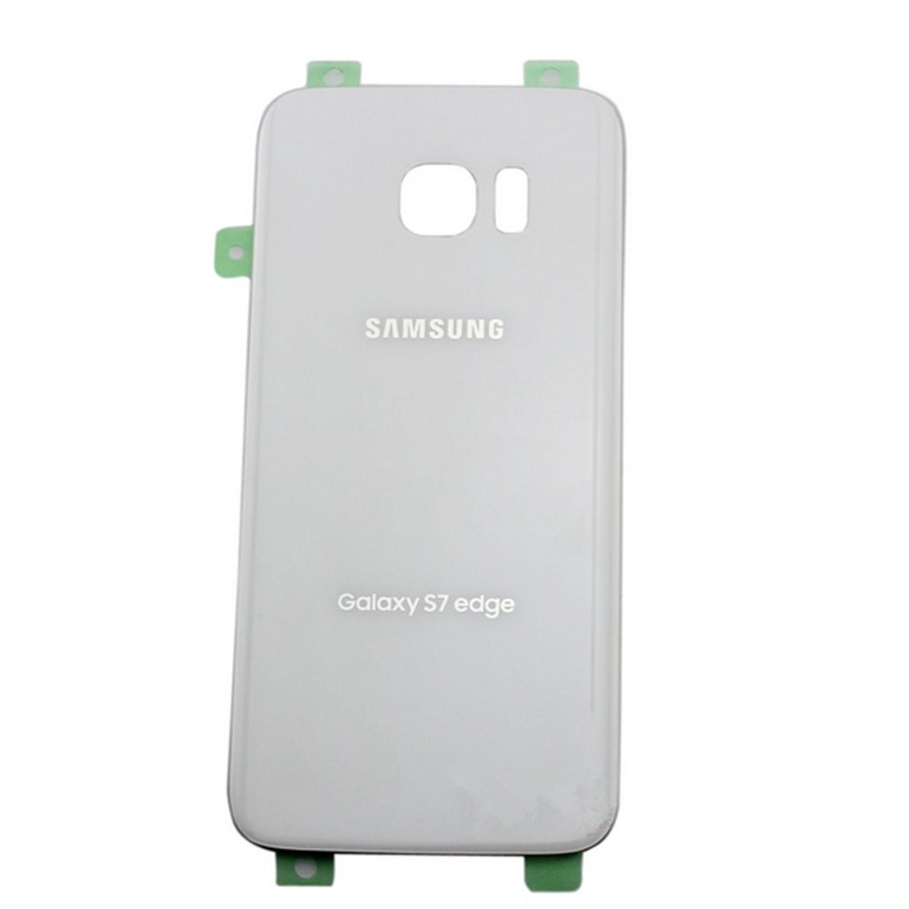 Silver OEM Samsung Galaxy S7 G930 Back Glass Cover Battery Door Replacement USA