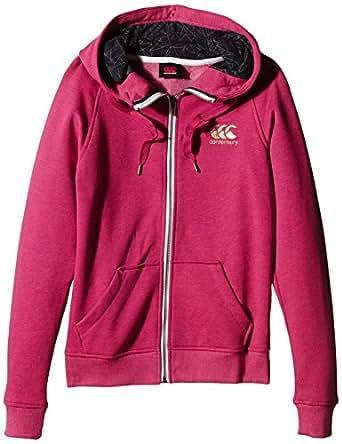 Canterbury Women's Zip Through Hoody - AW15 - X Large - Red