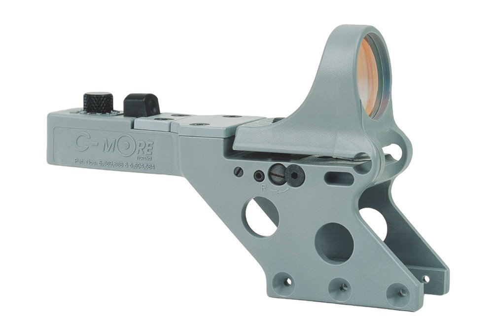 C-MORE Systems Serendipity Red Dot Sight with Click Switch (Frame Width: .750-Inch), Gray, 2 MOA