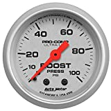 Auto Meter 4306 Ultra-Lite Mechanical Boost Gauge