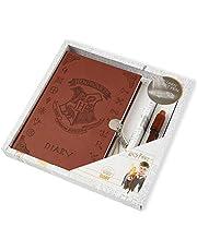 Harry Potter Geheime dagboek | Harry Potter briefpapier met afsluitbaar dagboek notitieboek en onzichtbare inkt magische pen | Leuke briefpapier set | Harry Potter cadeaus voor meisjes of jongens