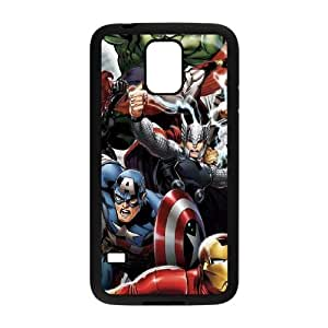 Samsung Galaxy S5 Cell Phone Case Black Avengers Team Power Up BNY_6966835